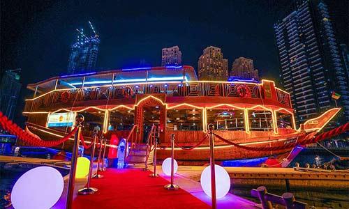 Dhow Cruise in Dubai Creek