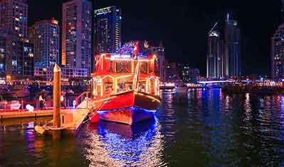 Dubai Cruise Creek