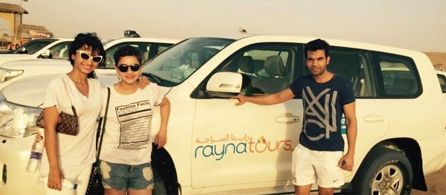 Rajkumar Rao in Rayna Desert Camp