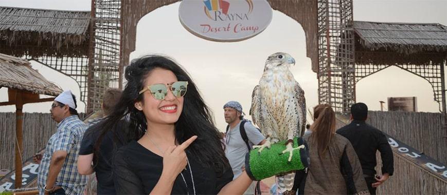 Neha Kakkar in Rayna Desert Camp