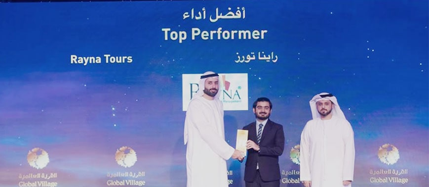 Top Performer at the Global Village Awards 2019