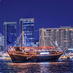 Desert Safari with Dhow Cruise Dubai