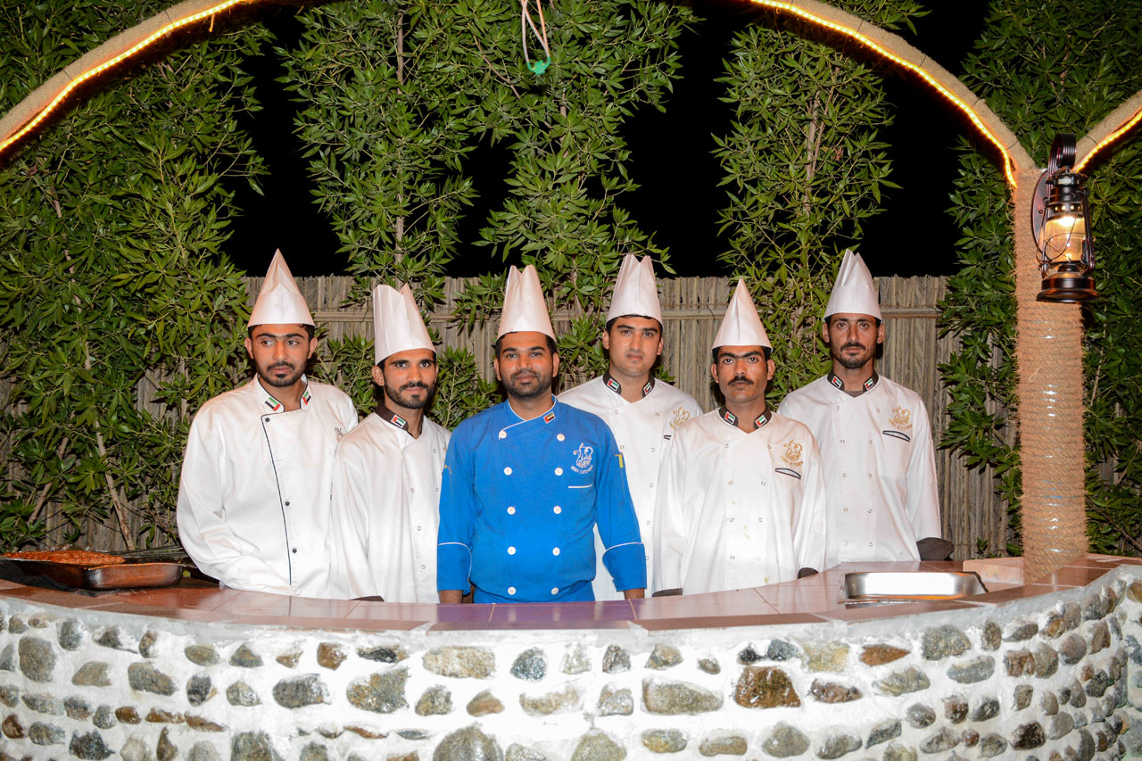 desert safari staff